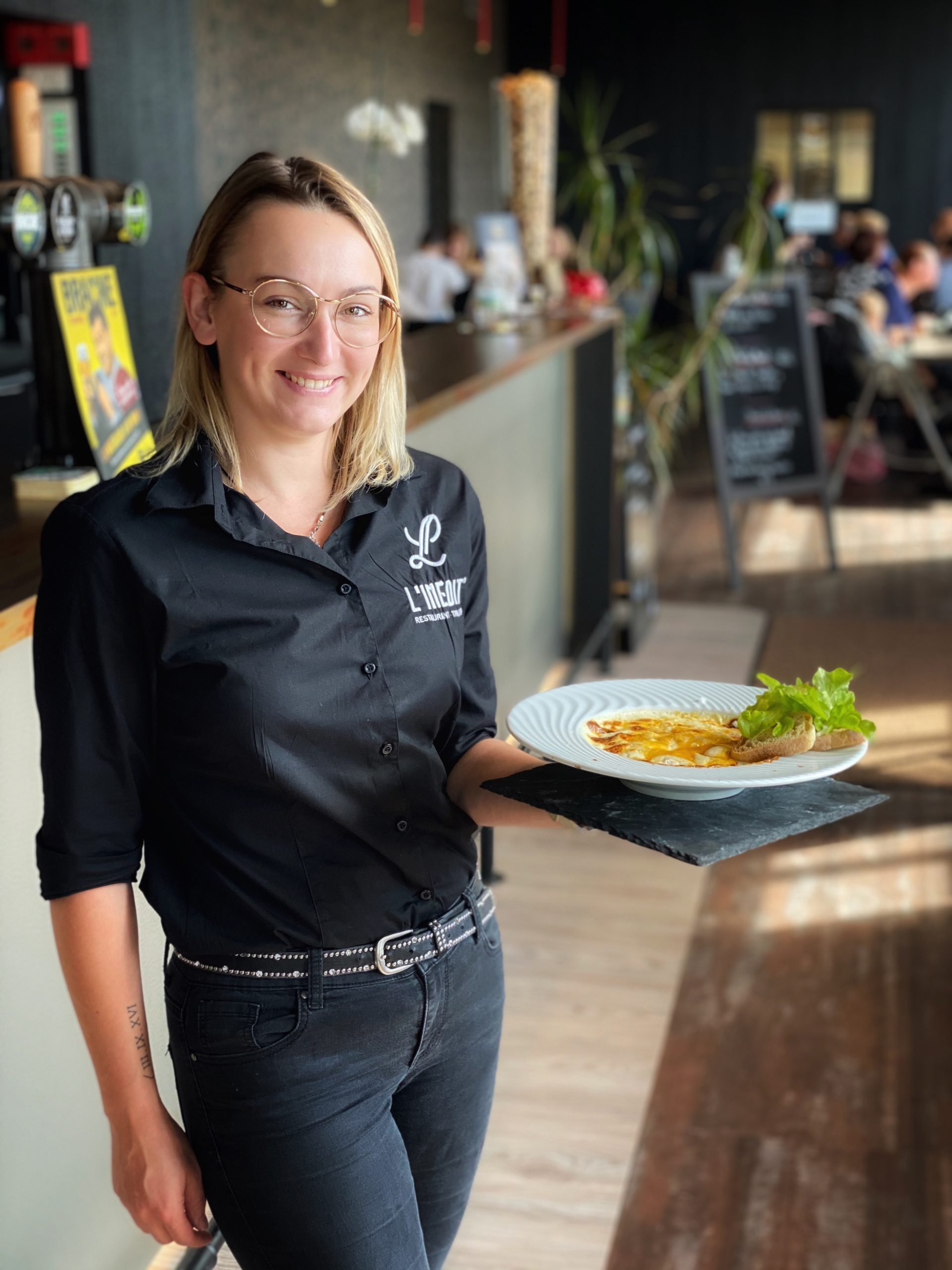 Mylène - Restaurant L'Inédit - Bruay-La-Buissière - Initiative Artois